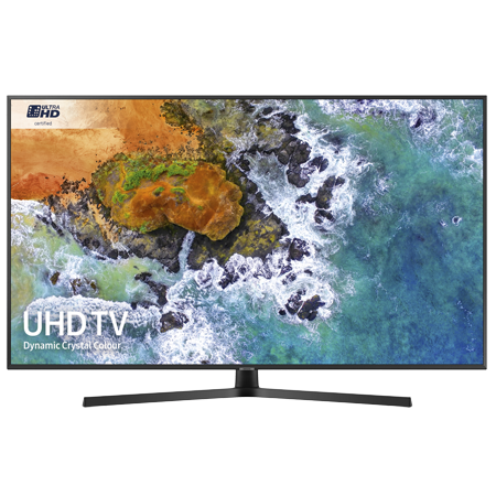 SAMSUNG UE43NU7400, 43 inch Smart Ultra HD Certified 4K HDR 10+ LED TV with Built-in Wi-Fi, TVPlus & Freesat