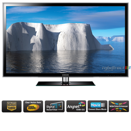 Super SAMSUNG UE46D5520RKXXU, 46 inch Series 5 Full HD 1080p Smart LED XB-96