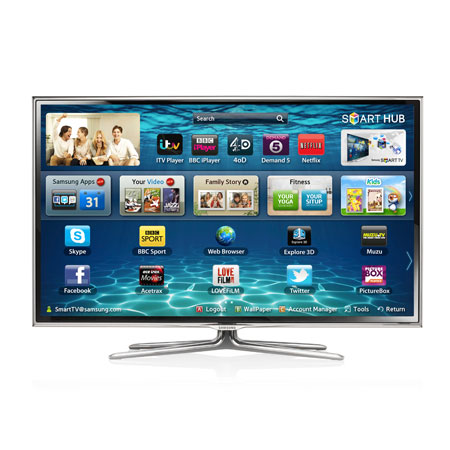 SAMSUNG UE46ES6800, 46 Series 6 Full HD 1080p Smart 3D LED TV with 400Hz Clear Motion Rate, Freeview HD & Freesat HD.