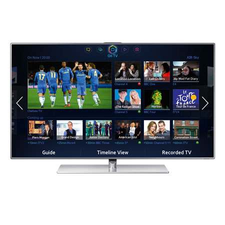 SAMSUNG UE46F7000, 46 Series 7 Full HD 1080p Smart 3D LED TV with Built-In Wi-Fi, Built-in Camera, Freeview HD, Freesat and S Recommendation.Ex-Display