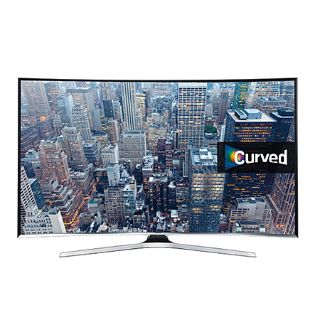SAMSUNG UE48J6300, 48 Series 6 Full HD 1080p Smart Curved LED TV with Freeview HD and Built-in Wi-Fi
