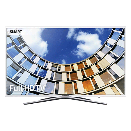 SAMSUNG UE49M5510, 49 Full HD 1080p Smart LED TV with TVPlus tuner & Built-in Wi-Fi in White