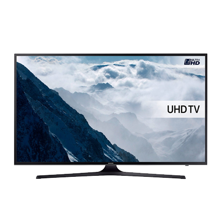 SAMSUNG UE50KU6000, 50 Series 6 Ultra HD 4K Smart LED TV with Built-in Wi-Fi & Freeview HD. Ex-Display Model.