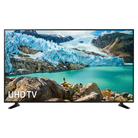 SAMSUNG UE50RU7020, 50 inch Smart Ultra HD 4K LED TV with Built-in Wi-Fi, Freeview HD, in Black