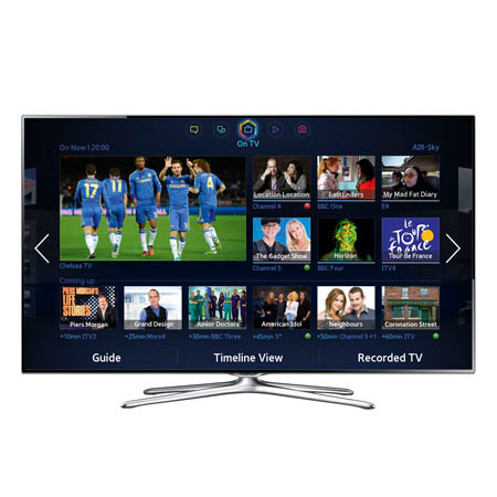 SAMSUNG UE55F6500, 55 Smart Full HD 1080p 3D LED TV with Built-In Wi-Fi, Freeview HD & Freesat