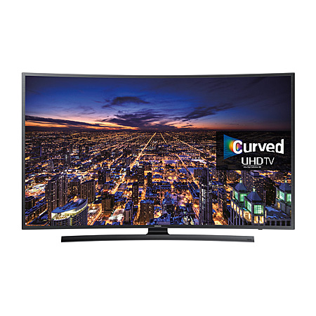 samsung ue55ju6500 55 ultra hd 4k smart curved led tv with freeview hd and built in wi fi. Black Bedroom Furniture Sets. Home Design Ideas