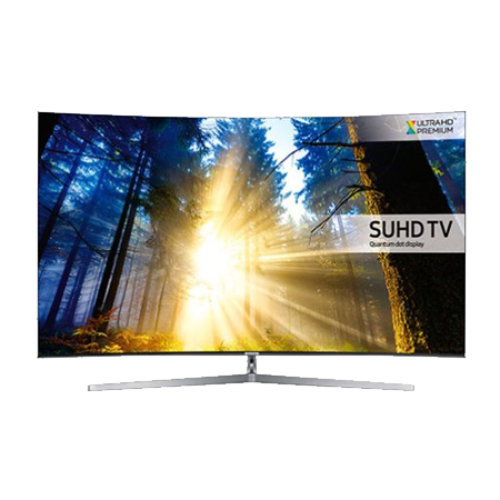 SAMSUNG UE55KS9000, 55 Series 9 Ultra HD 4K SUHD Smart Curved LED TV with Quantum Dot Display, Freeview HD and Freesat HD