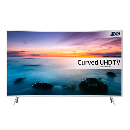 SAMSUNG UE55KU6510, 55 Series 6 Ultra HD 4K Crystal Colour HDR Smart Curved LED TV