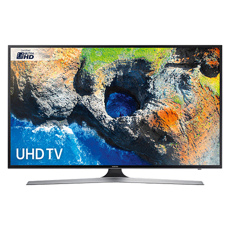 SAMSUNG UE55MU6100, 55 Smart Certified Ultra HD 4K HDR LED TV with TVPlus tuner & Built-in Wi-Fi