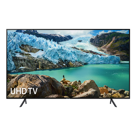 SAMSUNG UE55RU7100, 55 inch Smart Ultra HD 4K LED TV with Built-in Wi-Fi, Bluetooth & New Apple TV App