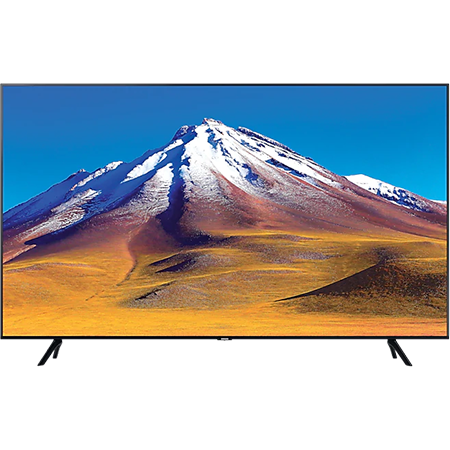SAMSUNG UE55TU7020, 55 inch Smart Ultra HD 4K LED TV Black with Freeview