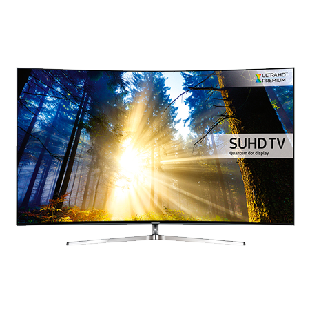 SAMSUNG UE65KS9500, 65 Series 9 Ultra HD 4K SUHD Smart Curved LED TV with Quantum dot Display.
