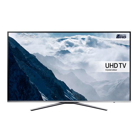 SAMSUNG UE65KU6400, 65 Series 6 Ultra HD 4K Smart LED TV with Freeview HD, Freesat HD and Built-In Wi-Fi