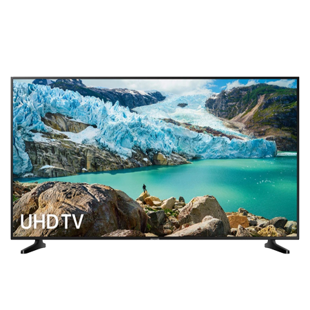 SAMSUNG UE75RU7020, 75 inch Smart Ultra HD 4K LED TV with Built-in Wi-Fi, Freeview HD, in Black