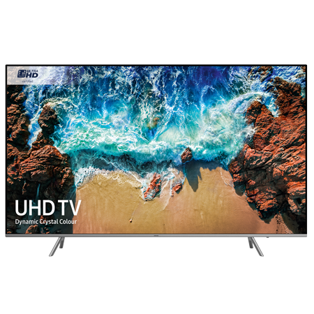 SAMSUNG UE82NU8000, 82 inch Smart 4K Ultra HD Premium Certified 4K LED TV with HDR 1000, Built-in Wi-Fi, TVPlus & Freesat.