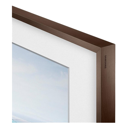 SAMSUNG VGSCFM43DW, Customisable Walnut Bezel for UE43LS003 FrameTV