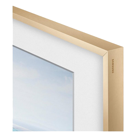 SAMSUNG VGSCFM43LW, Customisable Beige Wood Bezel for UE43LS003 FrameTV
