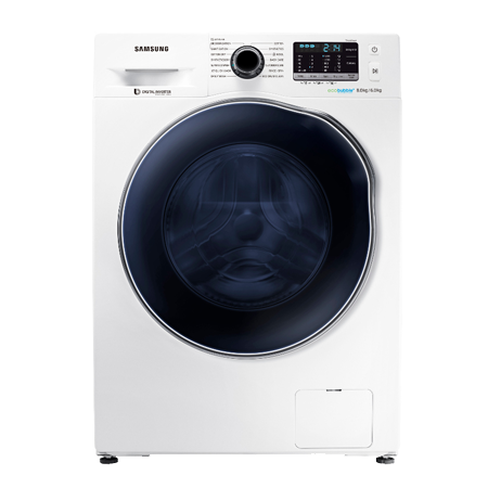 SAMSUNG WD80J5410AW, Freestanding 8kg Wash / 6Kg Dry 1400rpm Washer Dryer White.