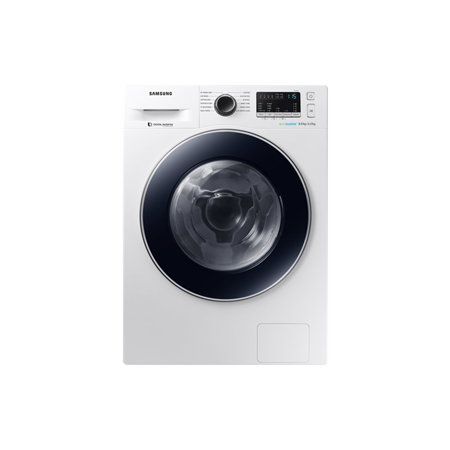 SAMSUNG WD80M4B53JW, 8kg Washer Dryer with ecobubble