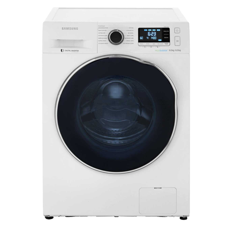 SAMSUNG WD90J6410AW, 9kg Washer / 6kg Dryer 1400 rpm with ecobubble, A Energy Rating - White