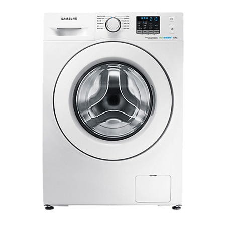 SAMSUNG WF80F5E0W2W, Freestanding 8kg 1200rpm Washing Machine - White, Energy rating: A+++