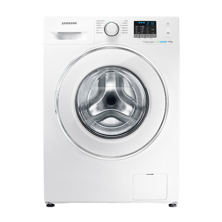 SAMSUNG WF80F5E0W4W, Freestanding 8kg 1400rpm Washing Machine White.