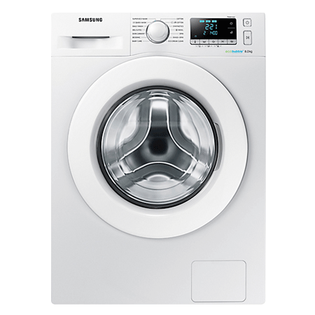 SAMSUNG WW80J5556MW, 8kg Washing Machine with 1400 RPM Spin Speed