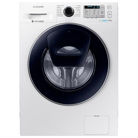 SAMSUNG WW80K5413UW, 8kg Freestanding Washing Machine with 1400rpm in White