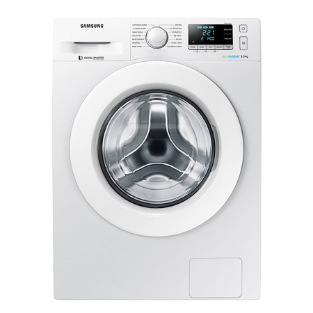 SAMSUNG WW90J5456MW, 9Kg Washing Machine with 1400 rpm - White - A+++ Rated & ecobubble