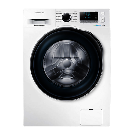 SAMSUNG WW90J6410CW, 9Kg ecobubble 1400rpm Washing Machine with A+++ energy rating