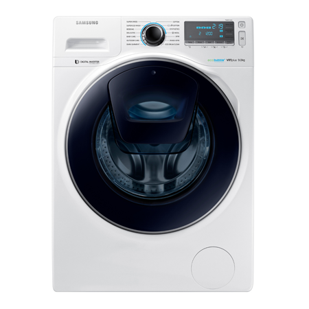 SAMSUNG WW90K7615OW, 9kg 1600rpm Washing Machine with A+++ Energy Rating and AddWash