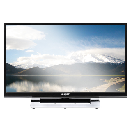 Sharp lc32le351k 32 inch full hd edge led tv with freeview hd built in