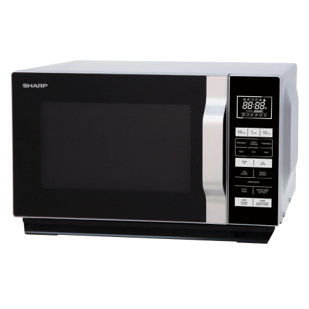 SHARP R360SLM, 900W Microwave Grill Silver with Touch Controls