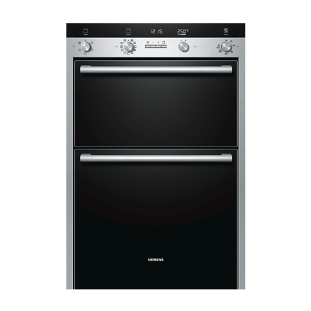 SIEMENS HB55MB551B, iQ500 Multifunction Double Oven Stainless steel. Ex-Display Model