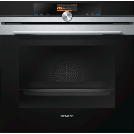 SIEMENS HB676GBS6B, IQ-700 Pyrolytic Multifunction Single Oven Energy rating: A+
