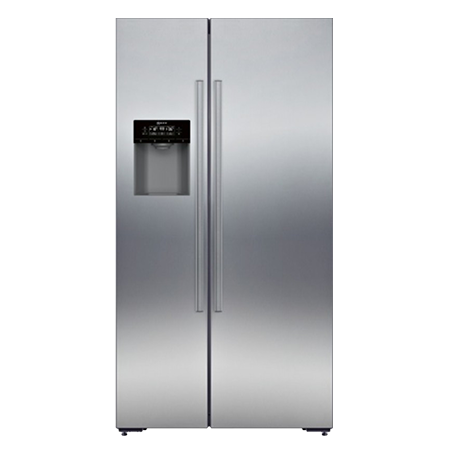 SIEMENS KA90DVI20G, US Style Side by Side Fridge Freezer A+ Energy Rating