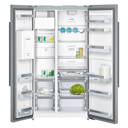 SIEMENS KA92DAI20G, US Style Side by Side Fridge Freezer