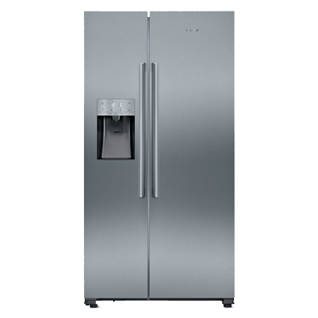 SIEMENS KA93DVIFPG, American-Style side by side Fridge Freezer, A+ Energy Rating, Stainless Steel