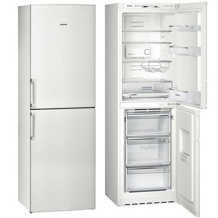 SIEMENS KG34NVW20G, iQ300 Freestanding Frost Free Fridge Freezer White