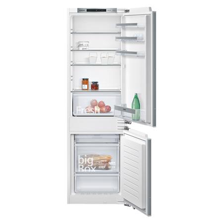 SIEMENS KI86NVFF0G, iQ300 Frost Free 60-40  fixed Hinge Integrated Fridge Freezer