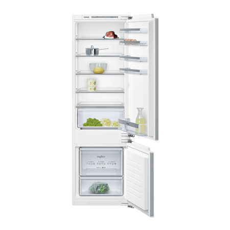 SIEMENS KI87VVF30G, iQ300 Built-In Low Frost Fridge Freezer.
