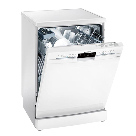 SIEMENS SN236W02IG, 60cm Freestanding Dishwasher - 13 Place Settings with A++ Energy Rating in White