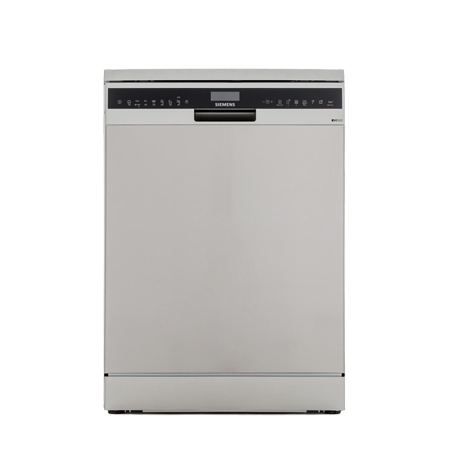 SIEMENS SN258I06TG, Freestanding Dishwasher in silver with 14 Place Settings