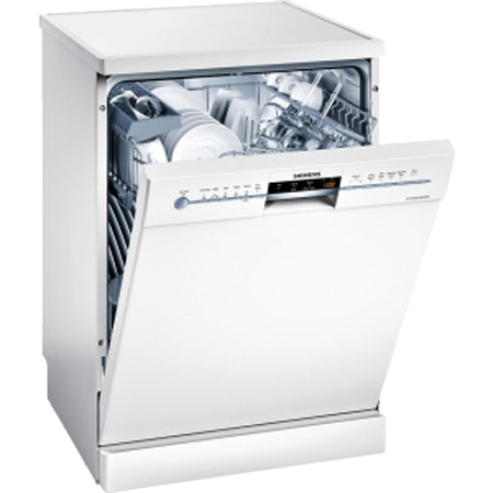 SIEMENS SN26M232GB, ExtraKlasse Full Size Dishwasher with 13 Place Settings in white colour.Ex-Display