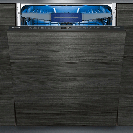 SIEMENS SN658D02MG, 60cm Fully Integrated IQ500 Dishwasher with DoorOpen Assist for handleless kitchens.
