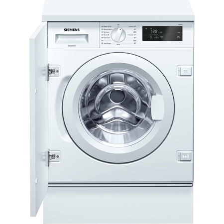 SIEMENS WI14W300GB, Integrated 8kg Washing Machine with 1400 rpm - A+++ Rated