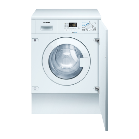 SIEMENS WK14D321GB, iQ300 Built-In 1400rpm 7Kg Wash / 4Kg Dryer - White
