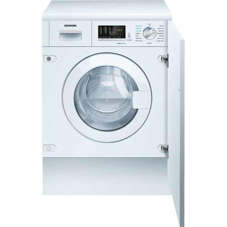 SIEMENS WK14D541GB, iQ500 Built-In 7Kg / 4kg 1400rpm Washer Dryer with B Rating in White