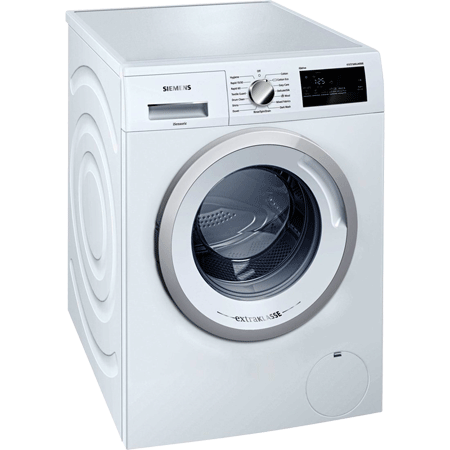 SIEMENS WM12N190GB, 7kg 1200rpm Washing Machine SilverWhite with ButtonTouch Controls