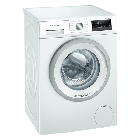 SIEMENS WM14N191GB, 7kg Washing Machine with 1400RPM Spin speed and reload function